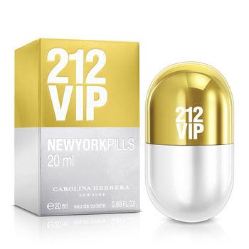Carolina Herrera 212 VIP女性淡香精紐約小膠囊版(20ml)
