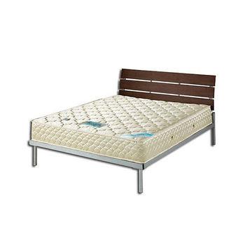 頂級3D孟宗竹冬夏兩用彈簧床墊5尺雙人