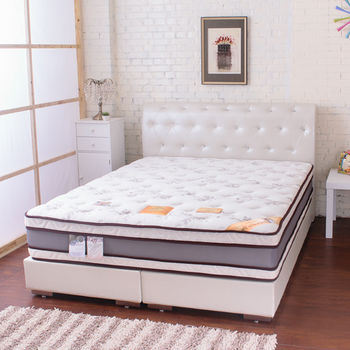 Bernice-乳膠天絲頂規四線獨立筒床墊3.5單人