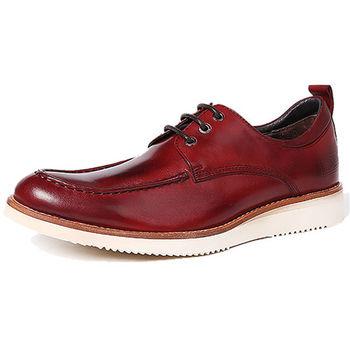 (預購)pathfinder款T1-822復古時尚真皮低幫舒適時尚男鞋PF英倫潮流商務休閒鞋(JHS杰恆社)