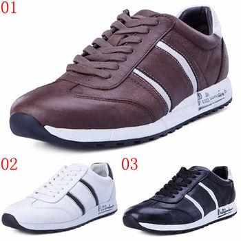 (預購)pathfinder款8643冬季保暖男士運動休閒鞋PF真皮柔軟舒適戶外低幫板鞋(JHS杰恆社)
