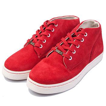 (預購)pathfinder款4090F男士復古潮流運動文化板鞋PF真皮耐磨時尚高幫休閒鞋(JHS杰恆社)