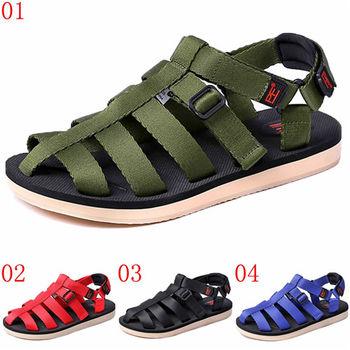 (預購)pathfinder款T5051夏季新款男士透氣沙灘鞋PF潮流舒適防滑休閒馬丁涼鞋(JHS杰恆社)