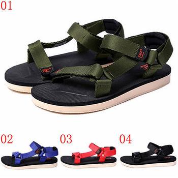 (預購)pathfinder款T4051夏季新款男士復古潮流涼鞋PF時尚休閒透氣舒適沙灘鞋(JHS杰恆社)