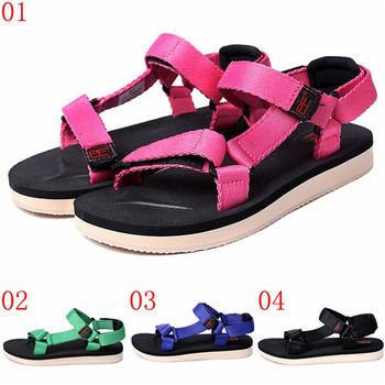 (預購)pathfinder款T4051W女士夏季新款潮流涼鞋PF復古時尚舒適魔術貼沙灘鞋(JHS杰恆社)