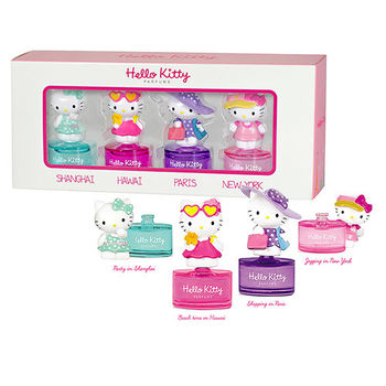 Hello Kitty 小小空姐小香禮盒組 8ml×4