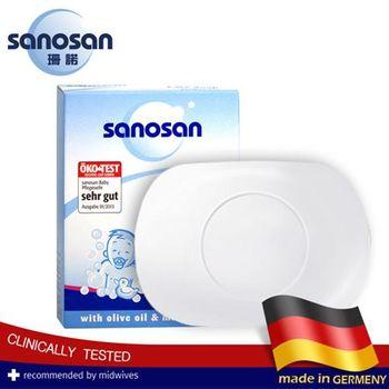 德國sanosan珊諾-寶寶潔膚皂100g