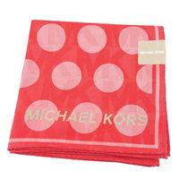 MICHAEL KORS圓點隱形LOGO帕巾 #40 紅粉 #41