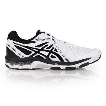 【ASICS】GEL-NETBURNER BALLISTIC男排羽球鞋 白黑