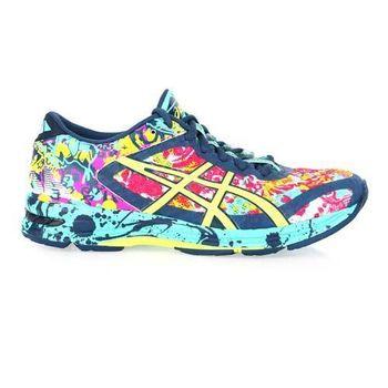 【ASICS】GEL-NOOSA TRI 11女路跑鞋-慢跑 亞瑟膠 湖水綠螢光黃
