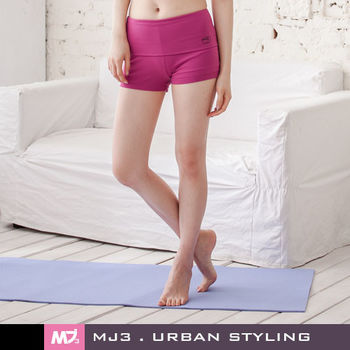 【MJ3】裙襬搖搖韻律短褲裙-女(俏紫紅)