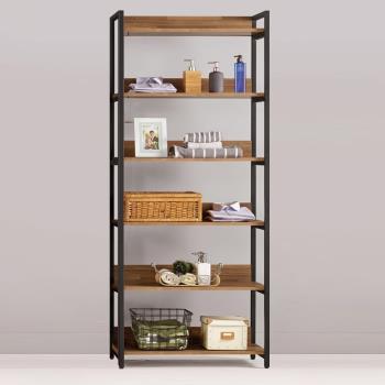 Bernice-諾德2.7尺開放式多層收納衣櫃