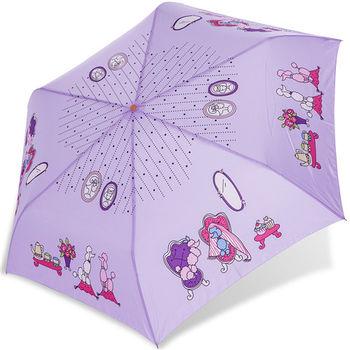 rainstory雨傘-貴賓狗午茶抗UV輕細口紅傘