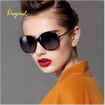 【MEGASOL】gucci設計師同款寶麗萊UV400偏光太陽眼鏡(米蘭設計獎款MS9217)