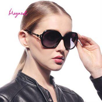 【MEGASOL】寶麗萊UV400防眩偏光手工太陽眼鏡(Dior設計師款-MS246)