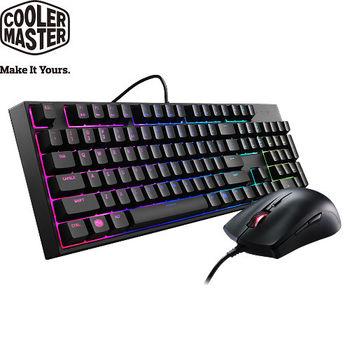 Cooler Master MasterKeys Lite Combo 類機械式 RGB 鍵盤滑鼠組 (中刻)