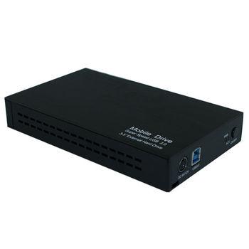 USB3.0 to SATA 6G 3.5吋硬碟外接盒(HD-35SU3-BK)