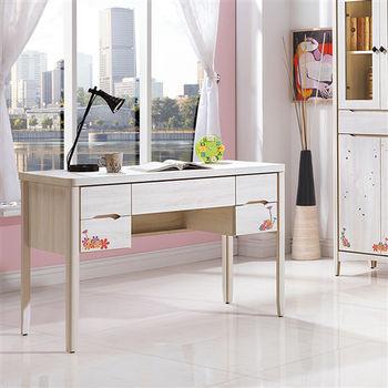 【時尚屋】[UZ6]瑪奇朶4尺書桌UZ6-257-1