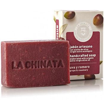 【LA CHINATA 希那塔】葡萄迷迭香調理手工皂100g