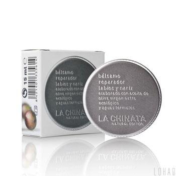 【LA CHINATA 希那塔】純淨天然橄欖精華唇鼻修護膏15ml