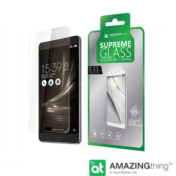 AmazingThing Asus ZenFone 3 Ultra滿版強化玻璃保護貼