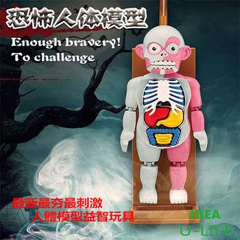 [創意生活U-LIFE]人體模型益智玩具 最夯最刺激款 人體拼裝模型/趣味驚嚇益智玩具/桌面遊戲