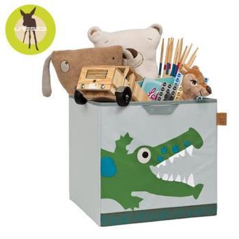 德國Lassig玩具儲物箱-小鱷魚