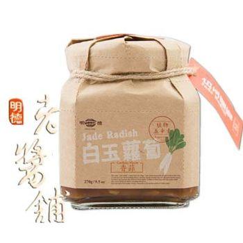 明德老醬鋪 香蒜白玉蘿蔔 270g/罐