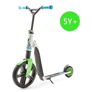 奧地利Scoot  Ride Highwaygangster兒少版滑步滑板平衡車-都會綠(5Y+)