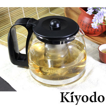 【Kiyodo】雅士達玻璃壺(GL-003)1250ml 泡茶壺/咖啡壺