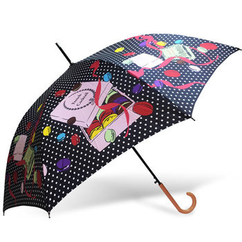 rainstory雨傘-馬卡龍禮盒抗UV自動開直骨傘