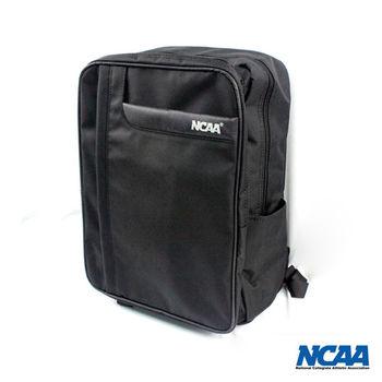 NCAA 防潑水筆電方塊後背包 (黑)