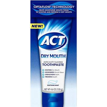 【美國 ACT Dry Mouth】口乾專用牙膏 (4.6oz/130g) *2