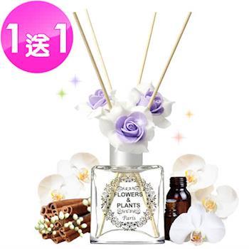 【愛戀花草】東印度白檀香 水晶擴香精油 (150ML/兩瓶組)