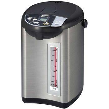 【TIGER虎牌】5.0L微電腦大按鈕熱水瓶 PDU-A50R