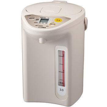 【TIGER虎牌】3.0L微電腦電熱水瓶 PDR-S30R