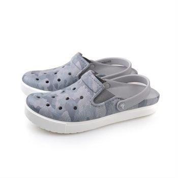 Crocs 休閒鞋 灰色 男鞋 no377