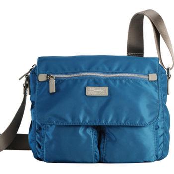【SUMDEX】NOA-708 (IB藍色/PI紫色)立體側背包