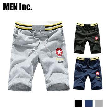 超值3件 Men Inc.「陽光型男」M-3XL美國運動休閒褲