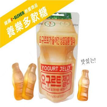 【Lotte樂天】韓國7-11限定養樂多軟糖多多乳酸口味 10包組