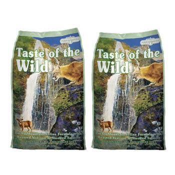【Taste of the wild】海陸饗宴 洛磯山鮭魚鹿肉 貓糧 5磅 X 2包