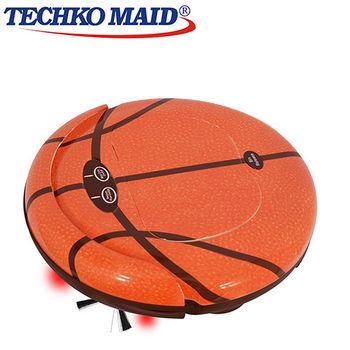 美國Techko Maid 聰明管家 四合一掃地機器人 RV668 籃球