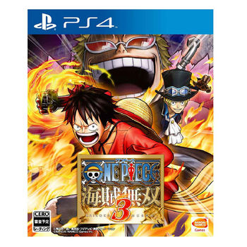 PS4遊戲 航海王:海賊無雙 3 - 亞洲中文版
