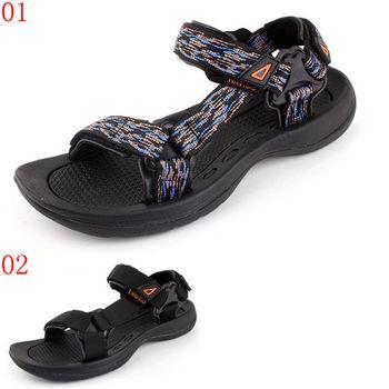 (預購)諾喀索RAKASO款7097H越南男涼鞋2016新款夏季潮流男士沙灘鞋大碼厚底防滑商務休閒涼鞋(JHS杰恆社)