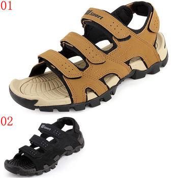 (預購)諾喀索RAKASO款W-0175越南2016新款潮流男涼鞋夏季運動休閒皮涼鞋防滑韓版男士沙灘鞋(JHS杰恆社)
