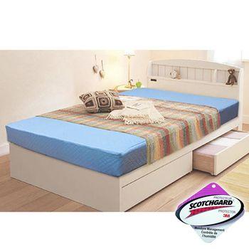 【KOTAS】 高週波吸濕排汗二折彈簧床(單人3尺)