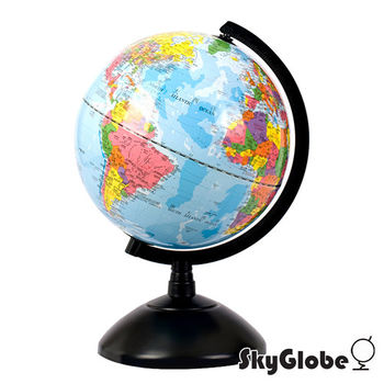 SkyGlobe 8吋塑膠底座地球儀