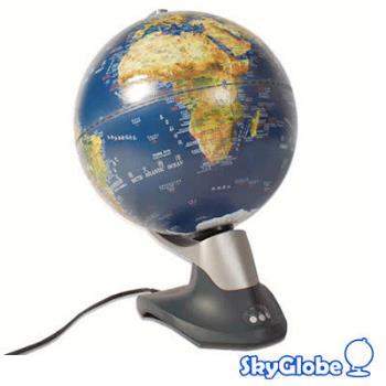 SkyGlobe 12吋衛星原貌自轉立體地球儀