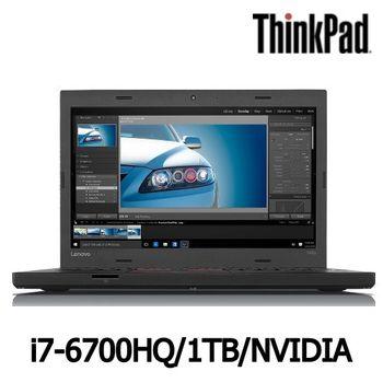 Lenovo 聯想 ThinkPad T460p 14吋 i7-6700HQ 1TB  NVIDIA 獨顯2G Win7 Pro 智慧讀卡機 強效實用筆電