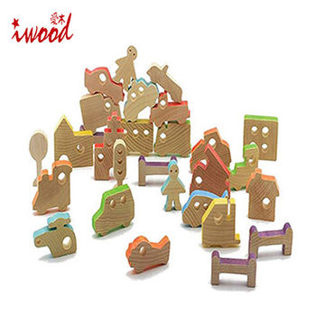 《iwood》城市物語積木 | City Story Blocks